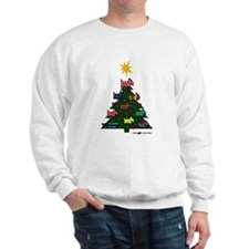 SCOTTISH TERRIER CHRISTMAS TREE Sweatshirt