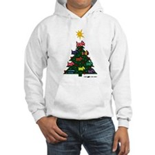 SCOTTISH TERRIER CHRISTMAS TREE Hoodie