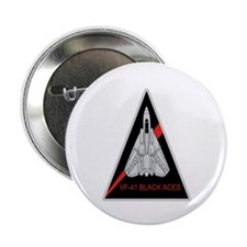 "F-14 Tomcat VF-41 Black Aces 2.25"" Button (10 pack"