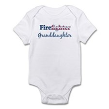 Firefighter Granddaughter Infant Bodysuit