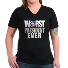 Anti Obama with Humor T-Shirt