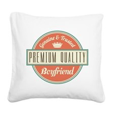 Vintage Boyfriend Square Canvas Pillow