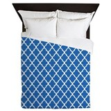 Clover blue Queen Duvet Covers
