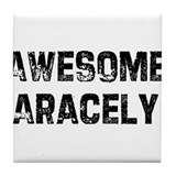 Awesome Aracely Tile Coaster
