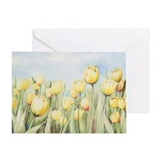 Nathalie's Tulips Greeting Card