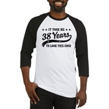 Funny 38th Birthday Baseball Jersey