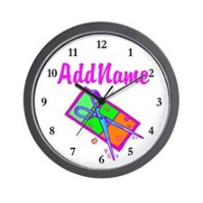 #1 HAIR STYLIST Wall Clock