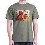 Sicilian Buttercup Chickens Dark T-Shirt