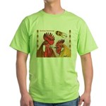 Sicilian Buttercup Chickens Green T-Shirt