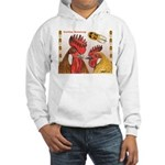 Sicilian Buttercup Chickens Hooded Sweatshirt