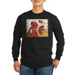 Sicilian Buttercup Chickens Long Sleeve Dark T-Shi
