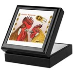 Sicilian Buttercup Chickens Keepsake Box