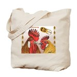 Sicilian Buttercup Chickens Tote Bag