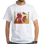 Sicilian Buttercup Chickens White T-Shirt
