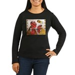 Sicilian Buttercup Chickens Women's Long Sleeve Da