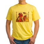 Sicilian Buttercup Chickens Yellow T-Shirt