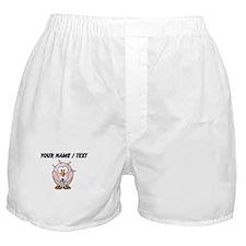 Custom Plucked Penguin Boxer Shorts