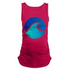 Wave - Summer - Travel Maternity Tank Top