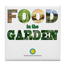 FOOD in the Garden Tile Coaster
