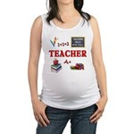 Teachers Do It With Class Maternity Tank Top