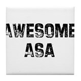 Awesome Asa Tile Coaster