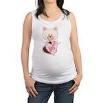 Sweetheart Cat Maternity Tank Top