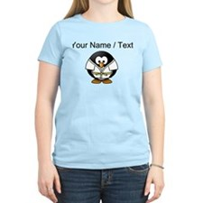 Custom Karate Penguin T-Shirt