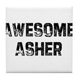 Awesome Asher Tile Coaster