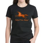 Chestnut Mare, Beware! Women's Dark T-Shirt