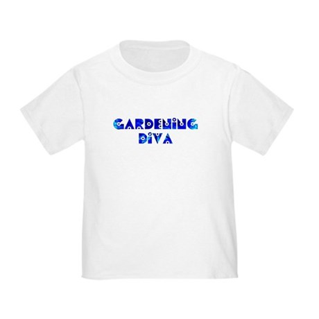 Gardening Diva Toddler T-Shirt