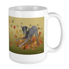 Playful Greyhound Mug