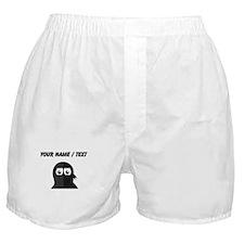 Custom Ninja Penguin Boxer Shorts