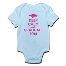 Keep calm and graduate 2014 Infant Bodysuit