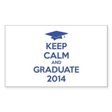 Keep calm and graduate 2014 Decal