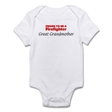 Proud Great Grandmother: Fire Infant Bodysuit