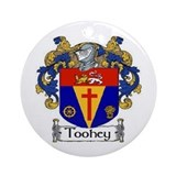Toohey Coat of Arms Ornament (Round)