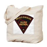 Wisconsin Surf Patrol Tote Bag