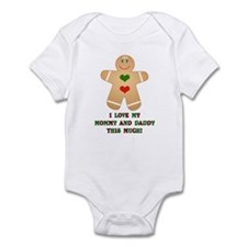 I love my mommy and daddy Infant Bodysuit