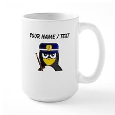 Custom Policeman Penguin Mug