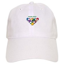 Personalized Billiard Balls Baseball Cap