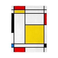 Mondrian Lines Twin Duvet