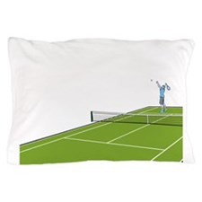 Tennis Court Pillow Case