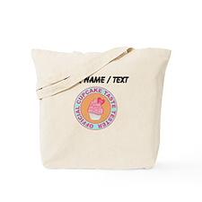 Custom Official Cupcake Taste Tester Tote Bag