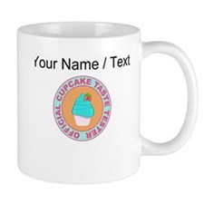 Custom Official Cupcake Taste Tester Small Mug