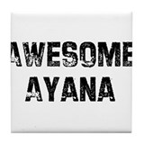 Awesome Ayana Tile Coaster