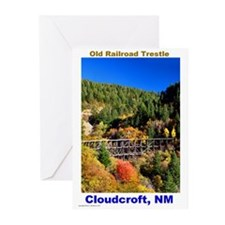 Cloudcroft Trestle Greeting Cards (Pk of 10)