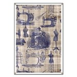 Vintage Sewing Toile Banner
