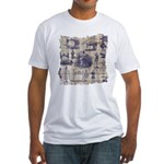 Vintage Sewing Toile Fitted T-Shirt