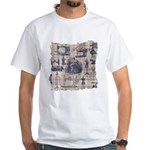 Vintage Sewing Toile White T-Shirt