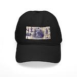 Vintage Sewing Toile Black Cap